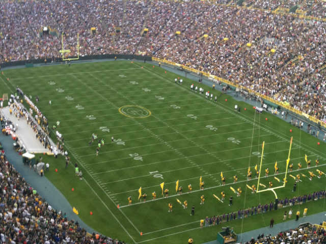 Green Bay Packers Upper Level